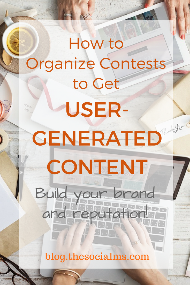 User-generated content can tremendously help businesses increase sales and build strong market positions. Here is how to use contests to get user-generated content. content creation, content marketing strategy, content strategy, content contests, content audience