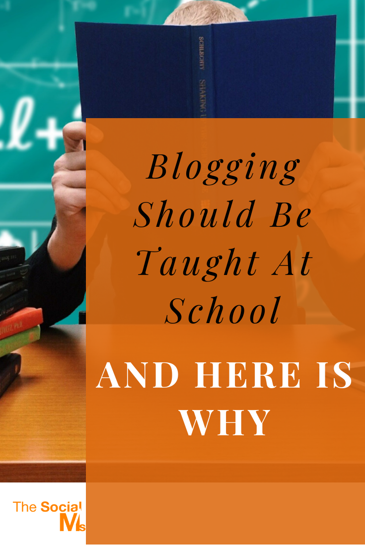 Blogging is a skill of the future. Should the future not belong to our kids? Should we not teach them the skills of the future? #bloggingforbeginners #startablog #blogging101
