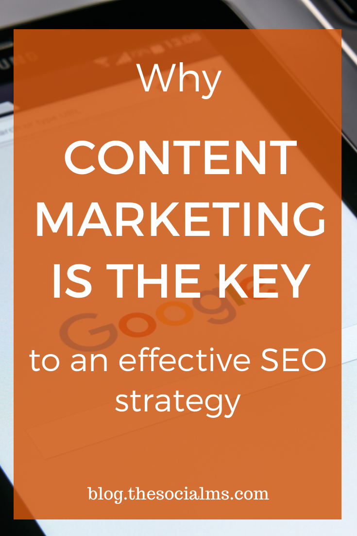 A good content marketing strategy is required for an effective SEO strategy and vice versa. They go together, overlap and complement each other. Here is how to use that to boost your SEO rankings. #seo #contentmarketing #digitalmarketing