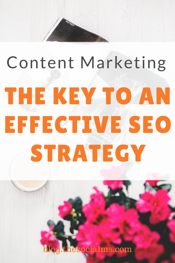 content marketing and SEO have a symbiotic relationship. A good content marketing strategy is required for an effective SEO strategy and vice versa. They go together, overlap and complement each other. Here is how to do it. #seo #contentmarketing #blogging #blogging101 #bloggingtips #bloggingforbeginners #blogtraffic