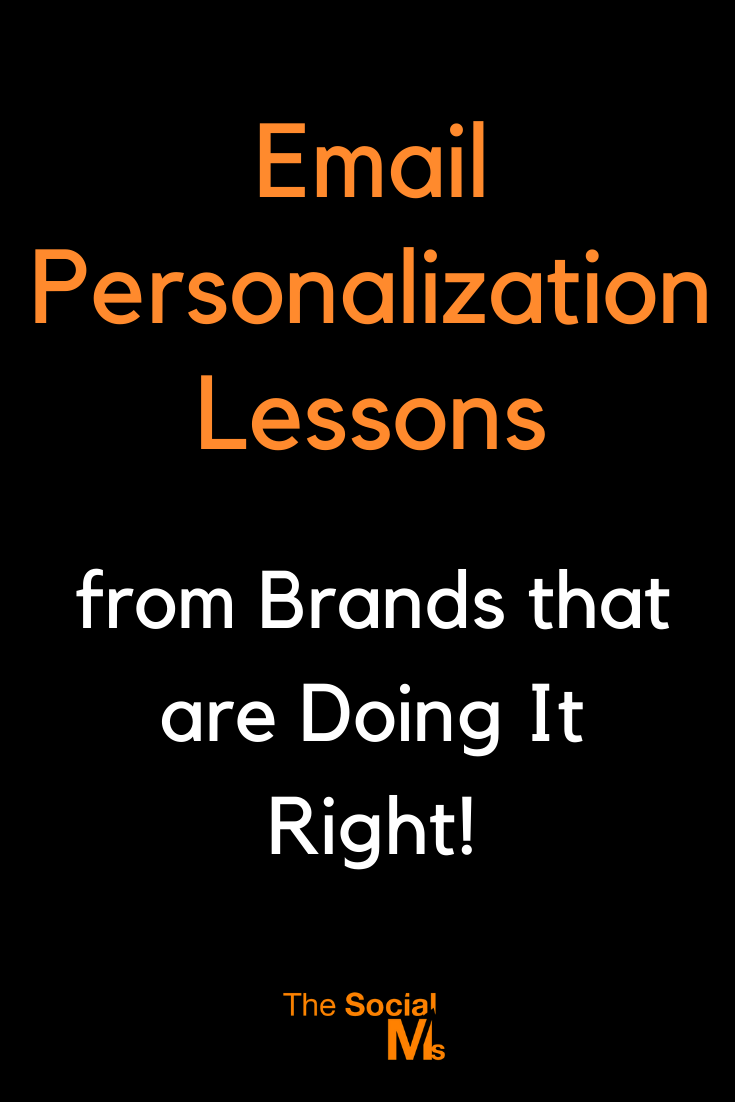 If you are new to email marketing, then incorporating personalization in your email campaigns would be a great way to build trust with your customers. #emailmarketing #salesfunnel #leadgeneration #smallbusinessmarketing