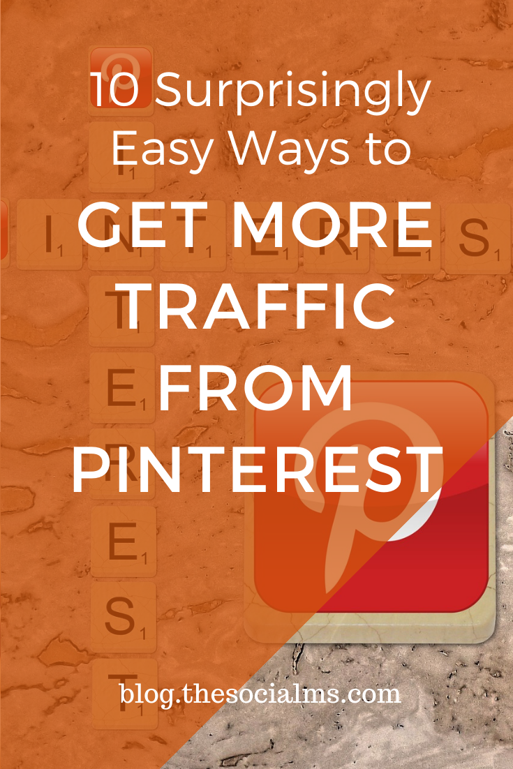 These 10 optimizations should help you to get your Pinterest marketing right on the track to major traffic success! #blogtraffic #pinterest #socialmedia #pinteresttips #socialmediatips
