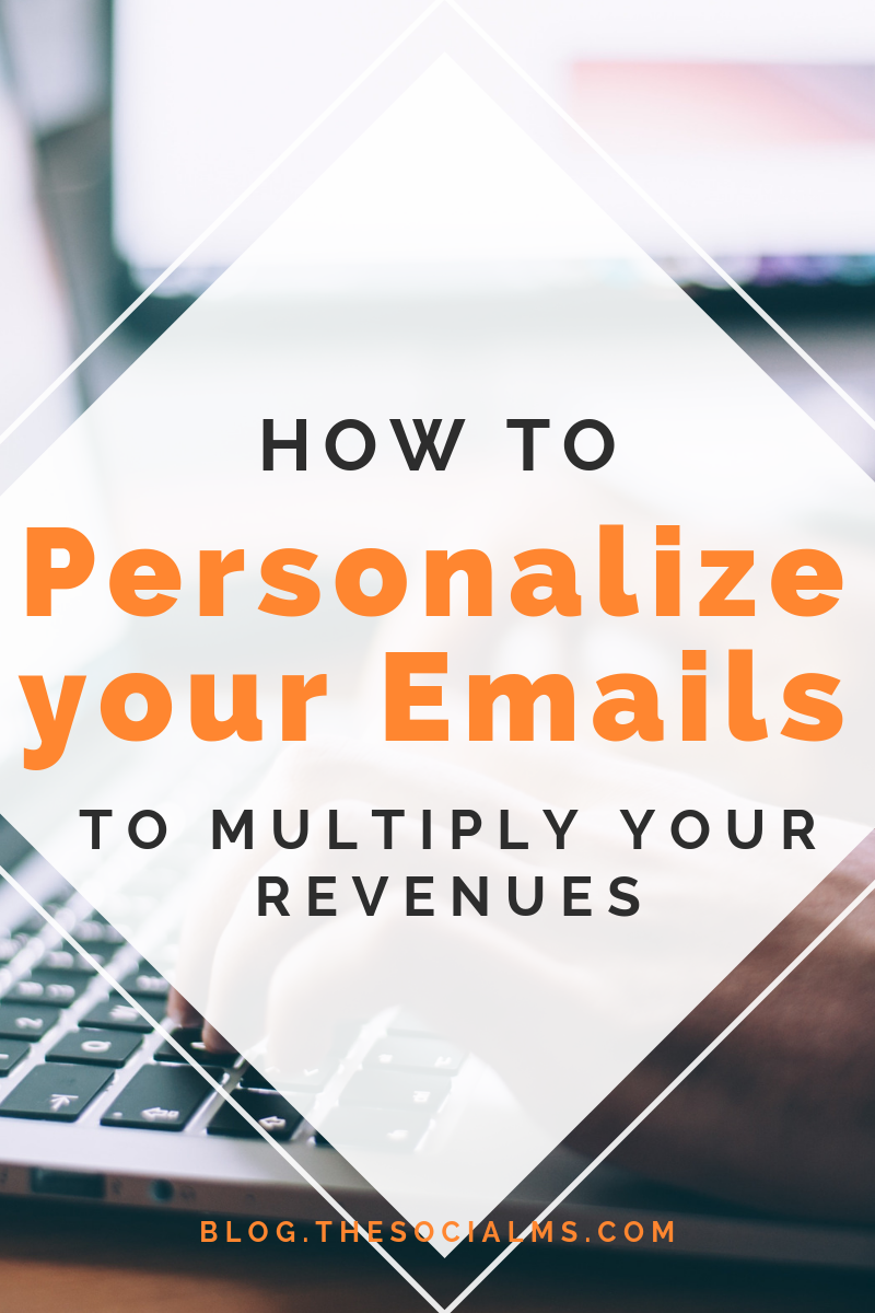 A one-size fits all email often does not lead to the wanted results. Here is how to nail email personalization and lessons to implement personalization in our own business and personalize your emails. #emailmarketing #newslettermarketing #emailpersonaliztion #salesfunnel