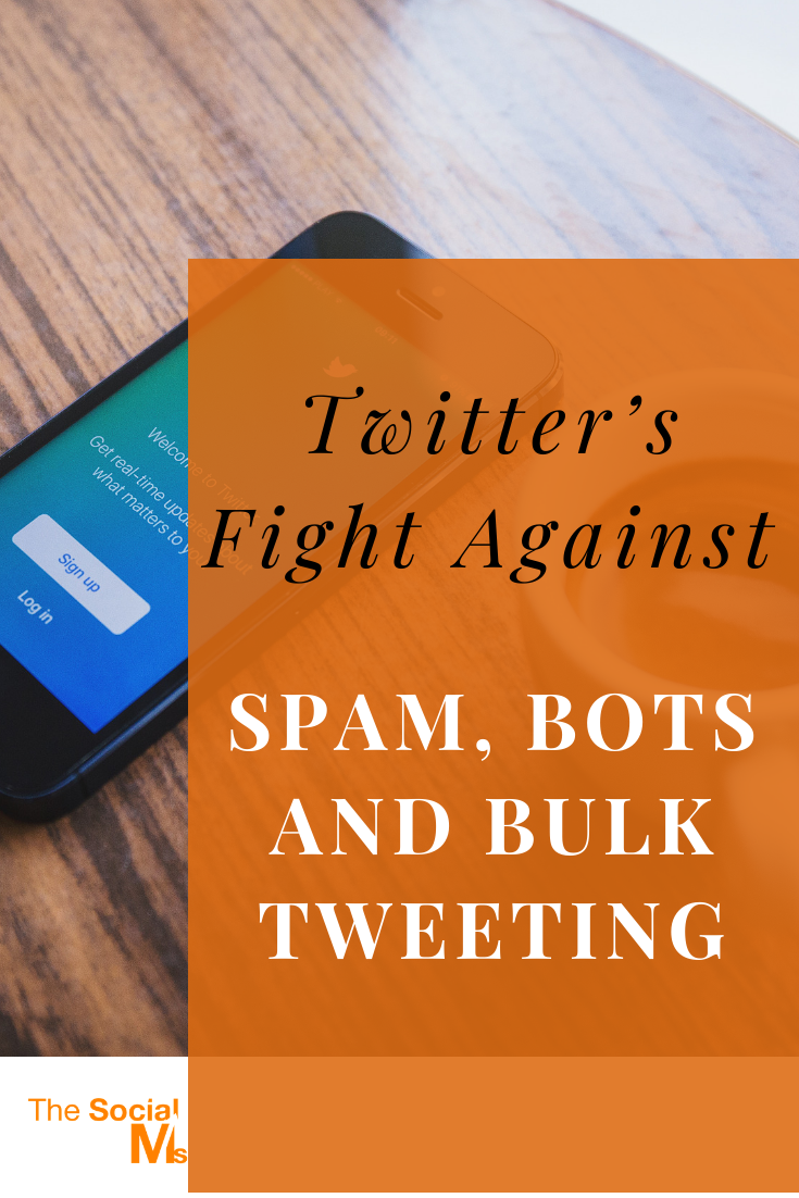 what is the anti-spam update on Twitter about? How does the fight agains spam and bots affect you? #twitter #twittermarketing #socialmedia #socialmediatips