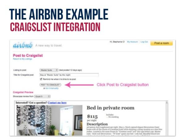 AirBnB Craigslist