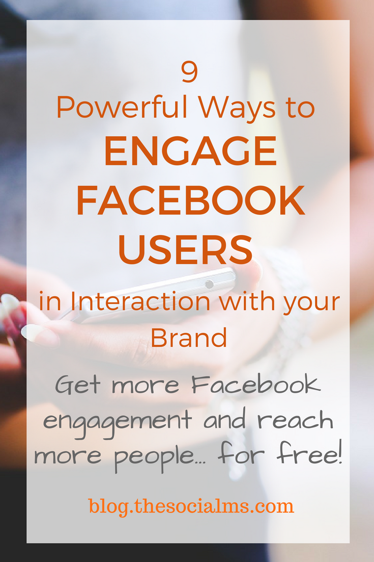 Here are a few simple and quick ways to interact more with your audience on Facebook to significantly increase Facebook engagement that do not include Facebook ads. facebook engagement, engage Facebook users, how to get more engagement on Facebook page, facebook marketing