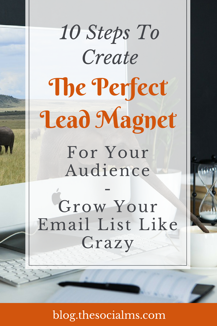 10 central attributes your lead magnet should have. They will help you create and choose the perfect lead magnet for your audience and grow your email list like crazy. lead generation, list building, email marketing, lead magnet examples, lead magnet ideas, blogging tips