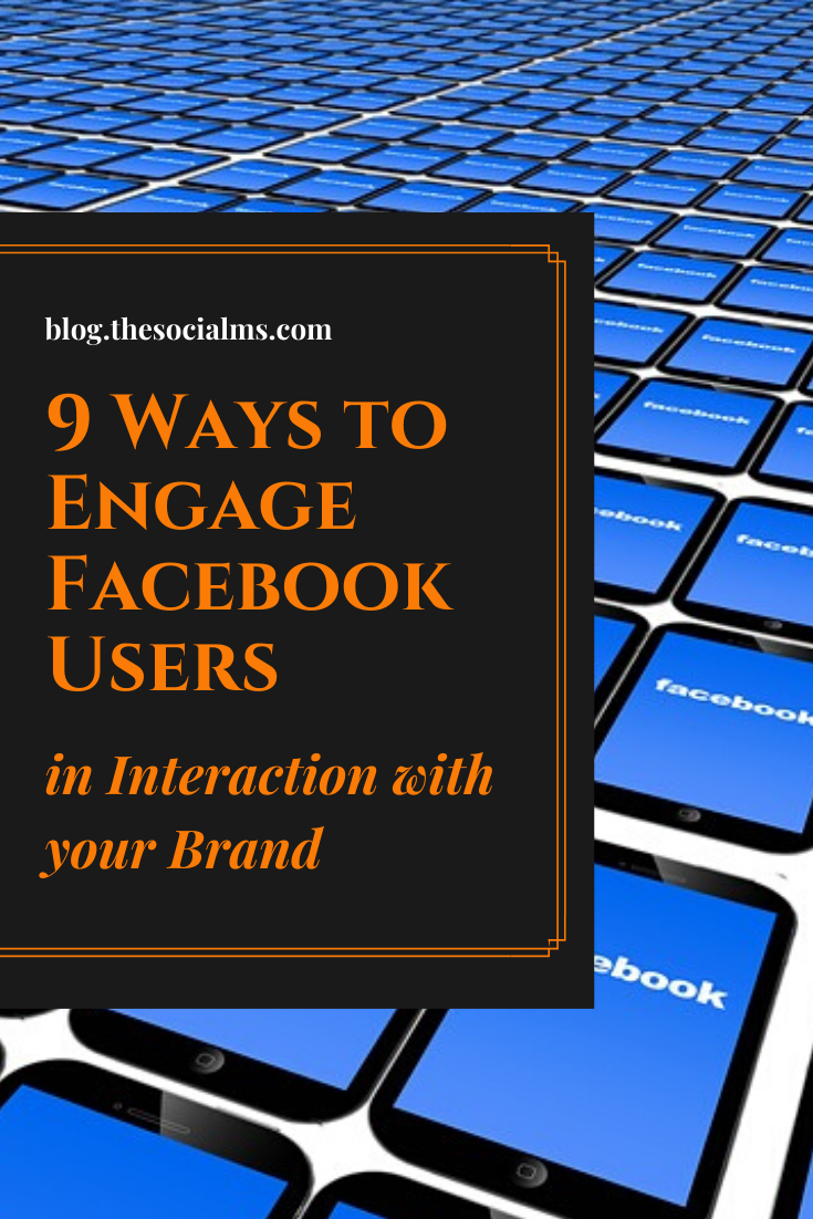 Are you looking for some simple and quick ways to engage your Facebook audience? Here are a few ideas that do not include Facebook ads. #facebook #facebookengagement #facebooktips #facebookmarketing #socialmedia #socialmediamarketing