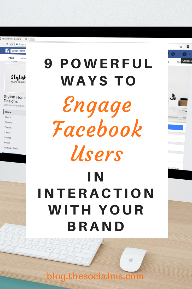 Are you looking for some simple and quick ways to engage your Facebook audience? Here are a few ideas to increase engagement on Facebook #facebook #facebooktips #socialmedia #socialmediaengagement #socialmediatips #socialmediamarketing