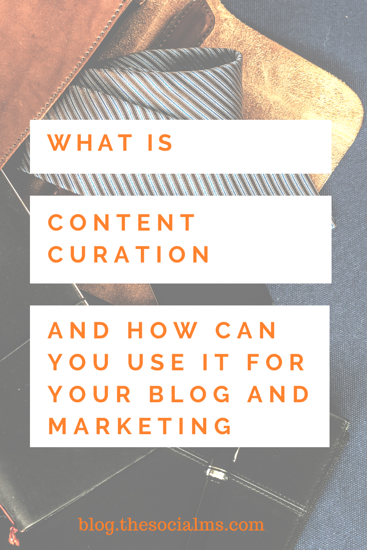 Content curation is a powerful marketing tool. But to us it to grow your blog and marketing you have to know what it is, how it works and how you can use it. #contentcuration #contentmarketing #smallbusinessmarketing #marketingbasics #digitalmarketing #onlinebusiness