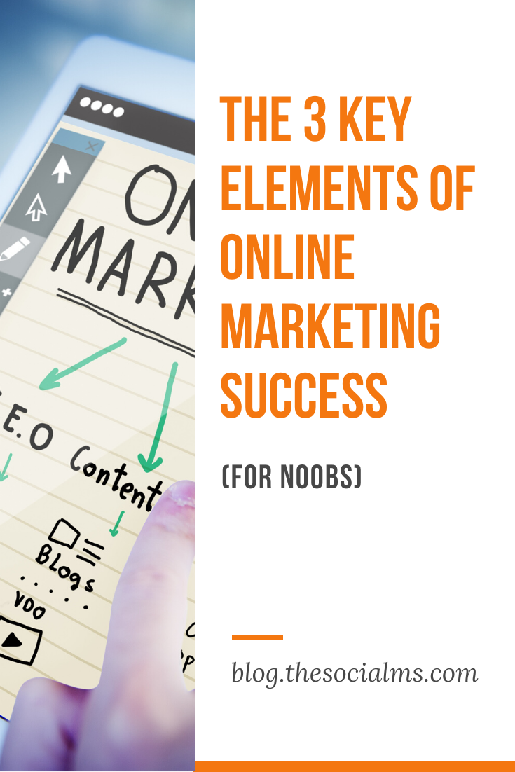 So what are the online marketing success elements? And why have you never heard of them before?  Let me teach them to you. #onlinemarketing #marketingstrategy #marketingtips #smallbusinessmarketing #startupmarketing
