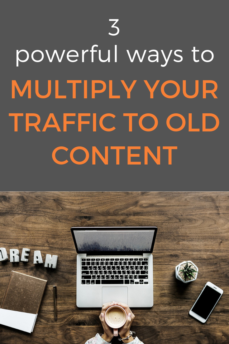 Here are some rather simple ways to give new life to your old and existing content. your content deserves more blog traffic and here are some great ideas to find a new blog audience for your older blog posts #blogtraffic #trafficgeneration #blogaudience #contentmarketing #contentdistribution #blogpostpromotion