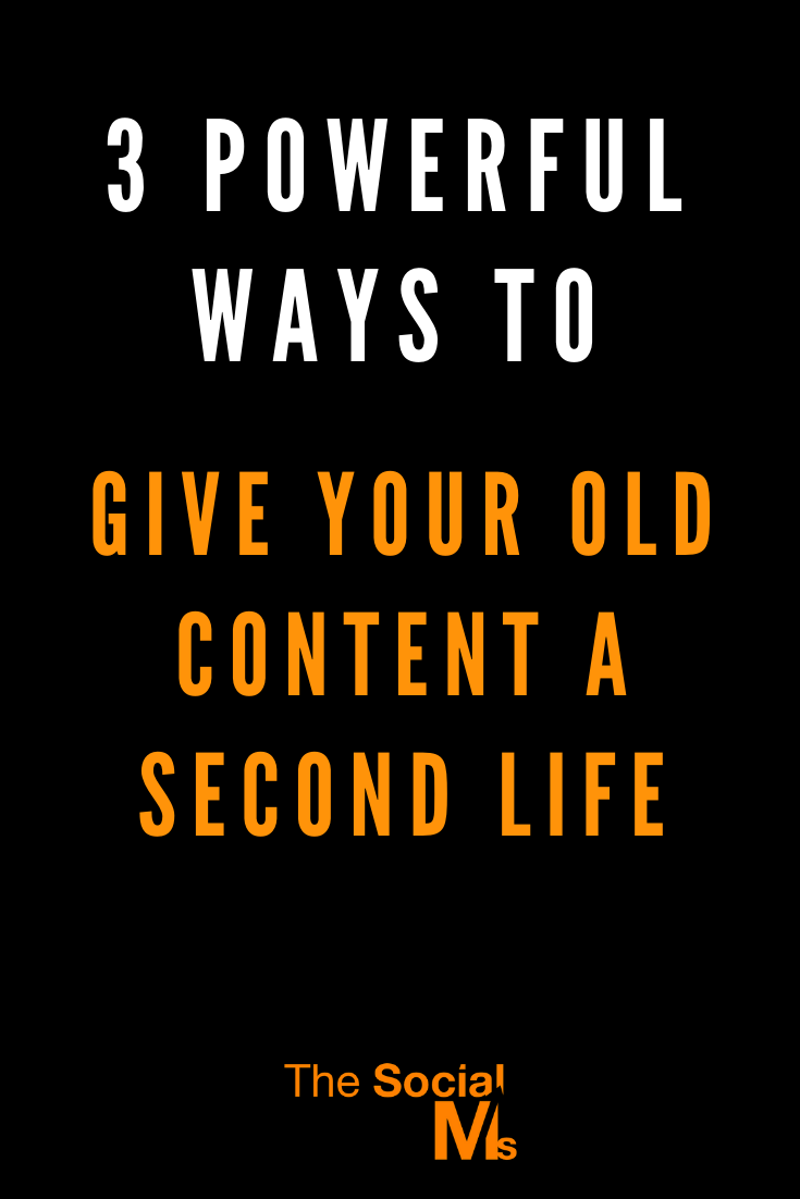 Here are some rather simple ways to give new life to your old and existing content. These methods are open to everyone and nothing fancy. Just things that have worked for us to give some of our already existing content a new spike in traffic! #bloggingtips #blogtraffic #trafficgeneration #bloggingsuccess #blogpromotion #repurposecontent