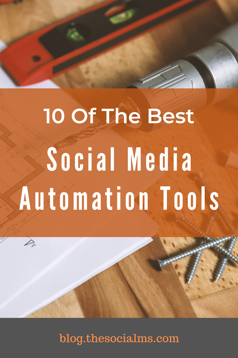 The following 10 social media automation tools are a collection of tools we are using, we tried and found useful or that we thought are well worth your attention to managing your social media activities. #socialmedia #socialmediaautomation #socialmediamarketing #marketingautomation #socialmediatools #autoamtiontools