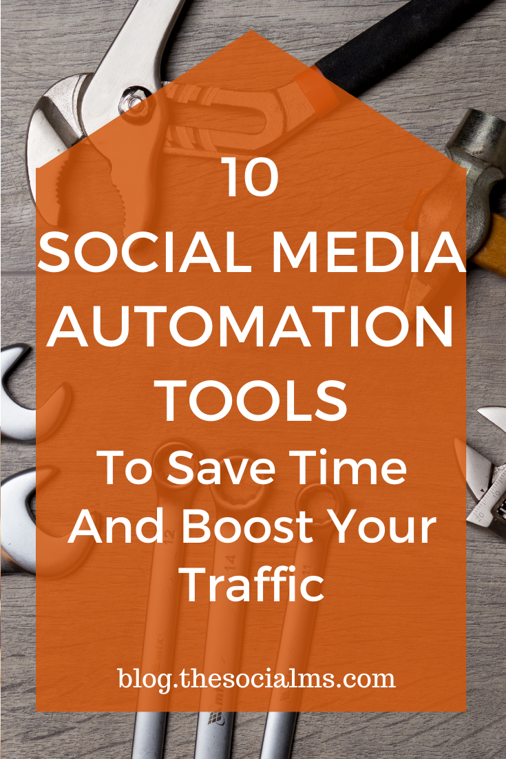 10 social media automation tools are a collection of tools we are using, we tried and found useful or that we thought are well worth your attention to managing your social media activities. #socialmedia #socialmediaautomation #socialmediamarketing #marketingautomation #marketingtools