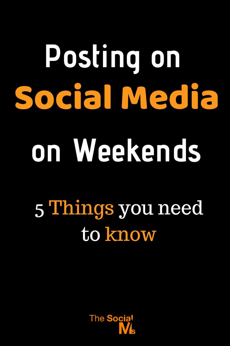 there are some very good reasons to keep your social media accounts active even on weekends, holidays – or even when everybody is off for a long summer vacation. Here is what you need to know about posting on social media on weekends. #socialmedia #socialmediatips #socialmediamarketing #socialmediapost #socialmediaactivity