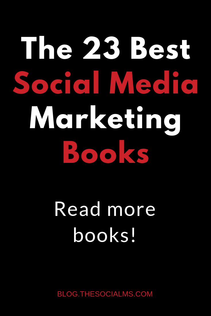 The social media marketing books you need to know: inspiration, actionable social media advice or step-by-step instructions - these books are for you! You will get right on your path to social media success and see your followers, blog traffic, and business grow. #socialmediatips #socialmediamarketing #socialmediastrategy #bloggingsuccess #bloggingtips