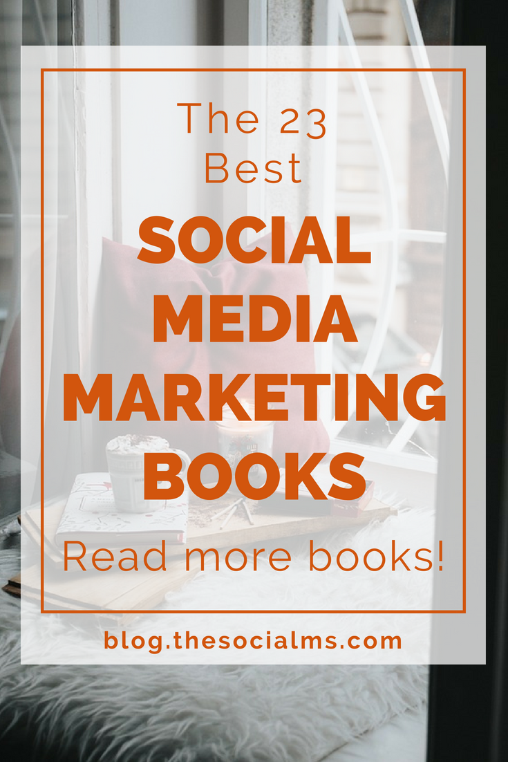 Here is a list of social media marketing books for advanced marketers and beginners. There are books with very actionable advice and step-by-step instructions to social media marketing success. Here are the books you need to read! marketing books, digital marketing, social media marketing #socialmdiatips #socialmedia #socialmediastrategy #onlinebusiness