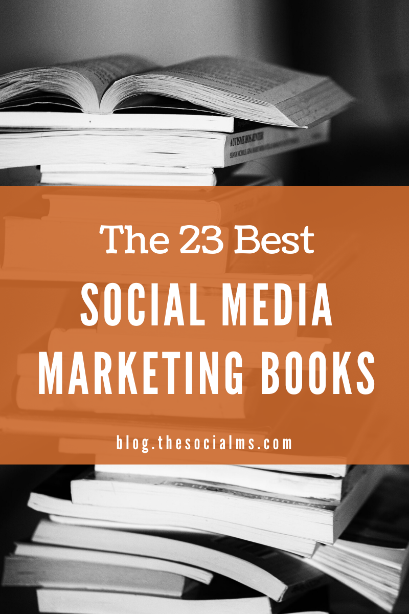 If you are looking for some blogging and social media marketing books to learn something new, get better at marketing, and even get inspiration: Here are the social media marketing books you need to read!  This list contains books for advanced marketers as well as for beginners. #socialmediamarketing #socialmediatips #socialmedia #bloggingtips #smallbusinessmarketing