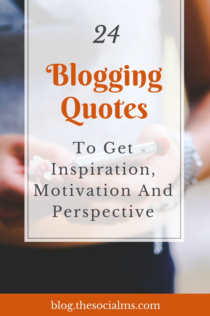 Many bloggers, marketers and online entrepreneurs have said some very interesting things. These quotes will give you valuable advice, inspiration - and motivate you to take action and get started. blogging tips, start a blog, blogging motivation #bloggingtips #startablog #bloggingforbeginners