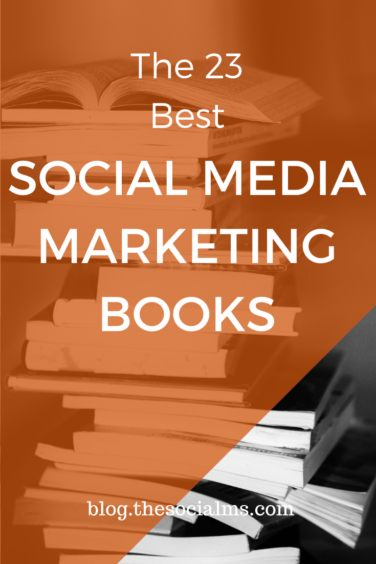 Here are the social media marketing books you need to read!  This list contains books for advanced marketers as well as for beginners. #socialmediamarketing #socialmediabooks #marketingbooks #socialmediatips #socialmediamarketing
