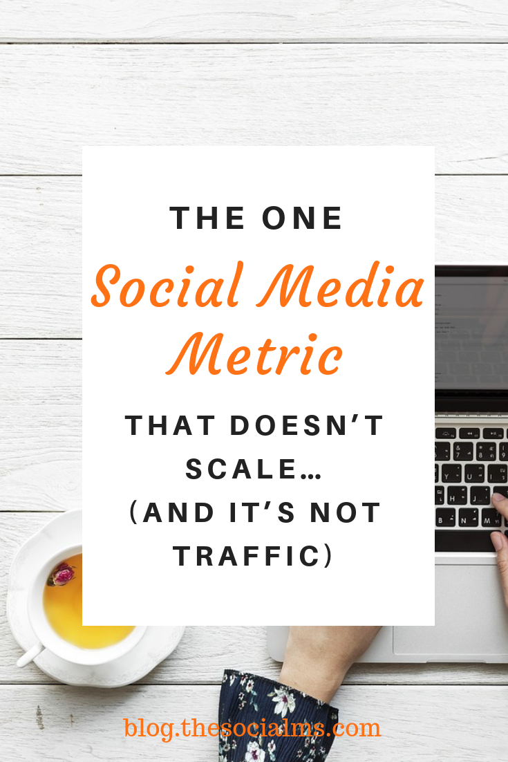 you can scale some social media metrics and others you simply cannot scale over a certain limit. And there is one social media metric that you can not scale at all. #socialmedia #socialmediamarketing #socialmediametric #socialmediatips