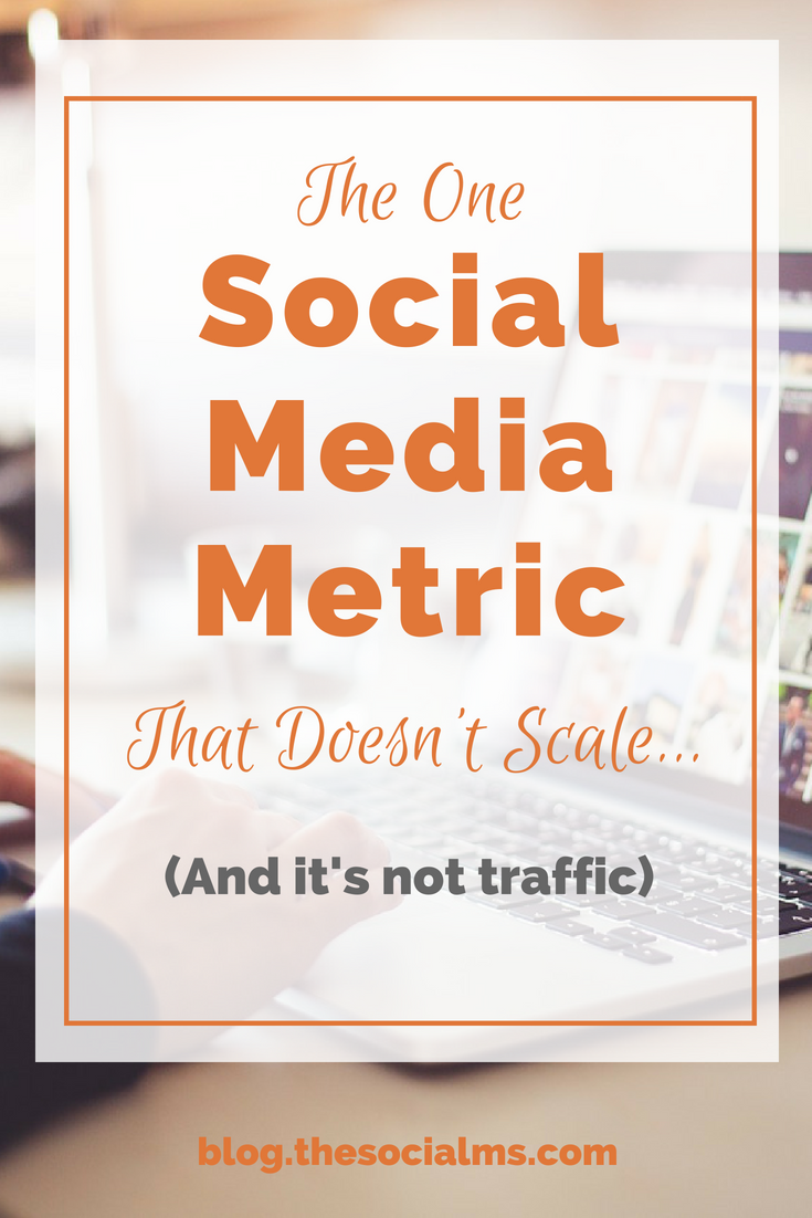 You can scale some social media metrics and others you simply cannot scale over a certain limit. And some things might be too time consuming or expensive to scale. Here is the one social media metric you cannot scale. social media marketing, social media tips, social media growth, marketing metrics #socialmedia #socialmediamarketing #marketingstrategy #digitalmarketingstrategy