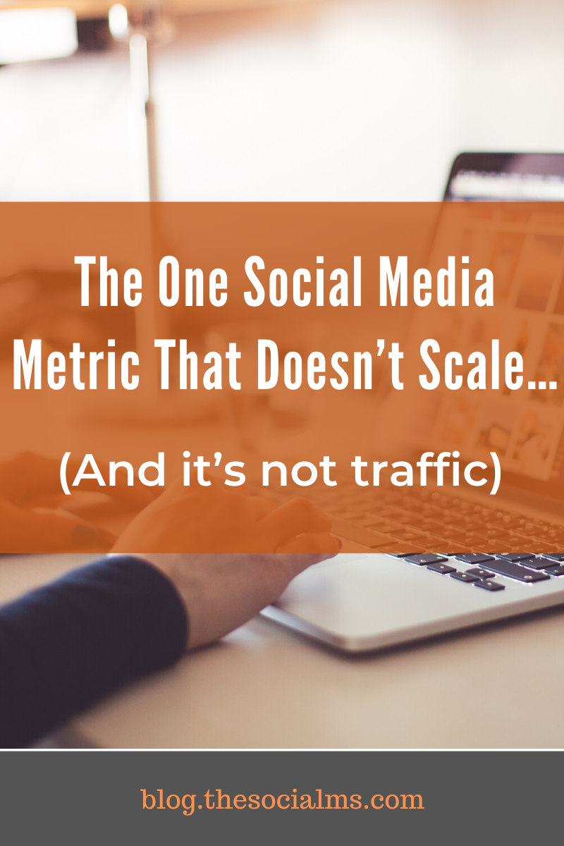 the truth is that you can scale some social media metrics and others you simply cannot scale over a certain limit. And some things might be too time consuming or expensive to scale. #socialmedia #socialmediamarketing #socialmediatips #marketingmetrics #socialmediametrics