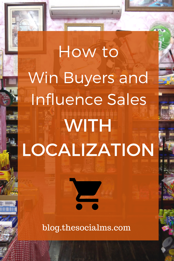 Localization is the process of adapting your marketing efforts to a specific market. Here is how to use localized marketing to make your brand at home in various markets, whether in your own country or elsewhere in the world. marketing personlization, improve sales #ecommerce #salesfunnel #sales #marketingstrategy