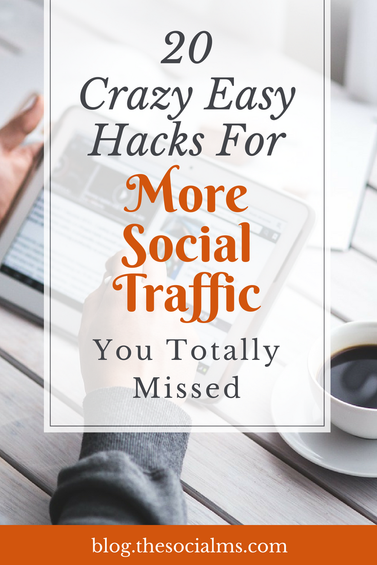 There are many tweaks and hacks which have tremendous power to multiply your social traffic with a few clicks, a couple of words, or a change of strategy. social media traffic, traffic generation, blog traffic, social media marketing,