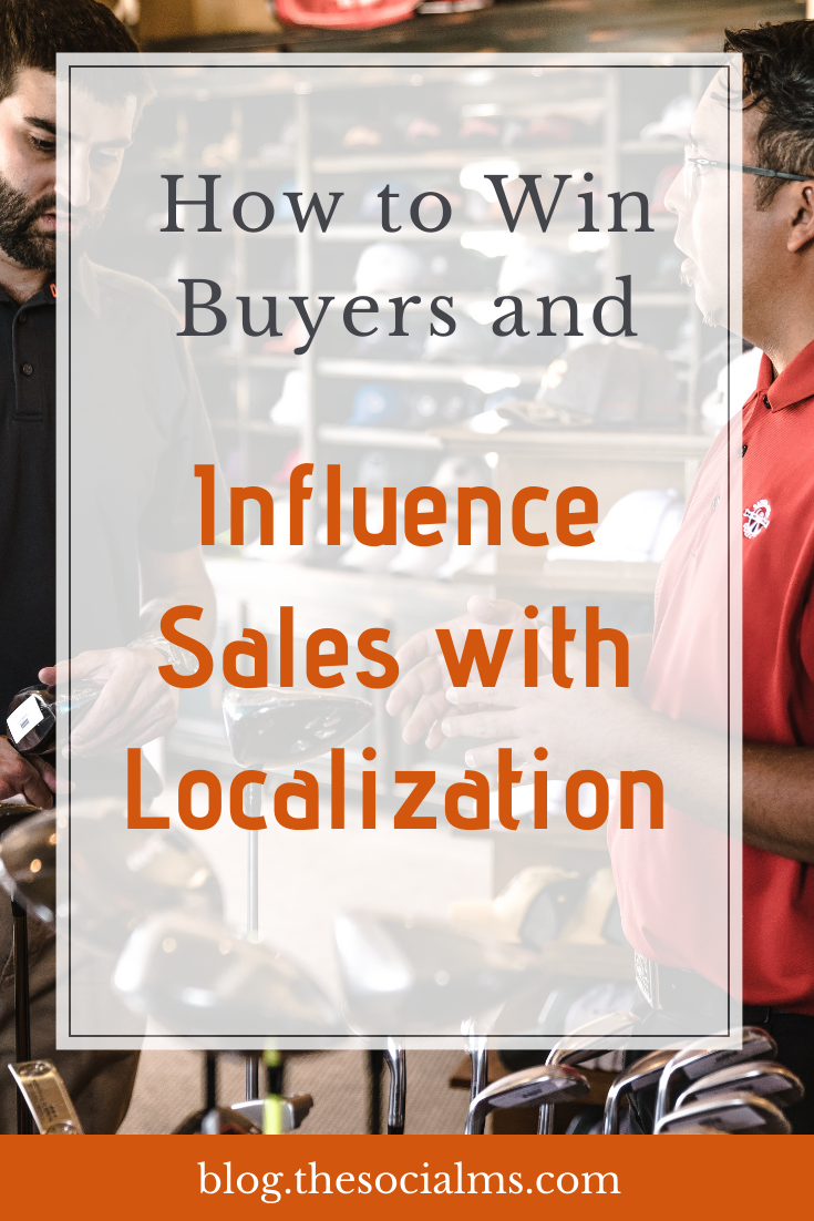 Localized marketing is the act of making your brand at home in various markets, whether in your own country or elsewhere in the world. Here is how to use localization to increase sales. #localization #smallbusinessmarketing #ecommerce #salesfunnel #makemoneyblogging #bloggingformoney