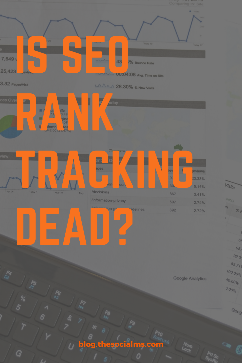 Is rank tracking dead? Rank tracking as we used to know it, is dead! Here is how Rank tracking is reinvented #seo #seotactics #seotips #ranktracking #blogtraffic #bloggingtips #smallbusinessmarketing #searchengineoptimization