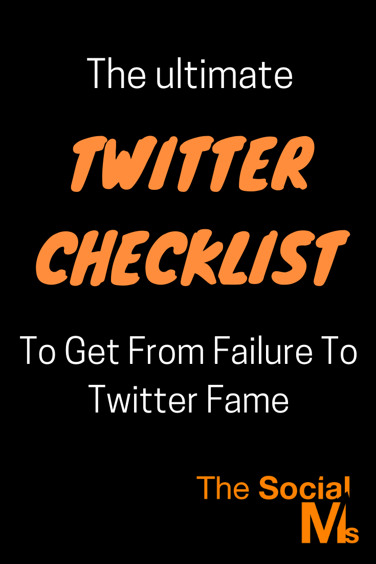 Here is your Twitter checklist to make sure that you have everything right and did not miss something really important. #twitter #twittermarketing #twittertips #socialmedia #socialmediatips #socialmediamarketing