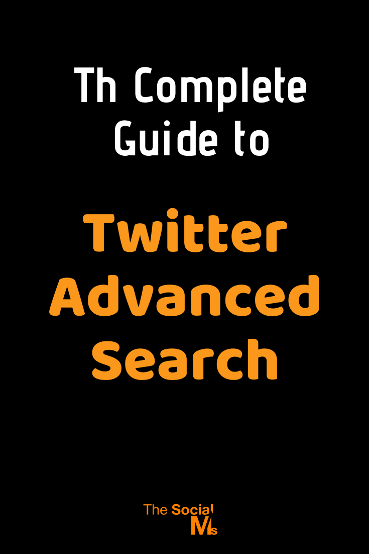 Almost anything on Twitter is searchable. There is far more to Twitter search than the little search bar in the top right corner of your Twitter web interface. The Twitter search engine is a very powerful one. Here is your guide to Twitter advanced search #twittersearch #twitter #twittertips #socialmedia #socialmediatips #socialmediamarketing
