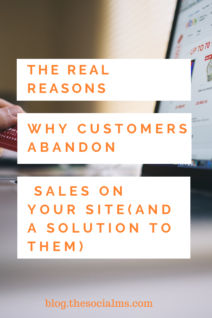 for one reason or another, your customers decide to leave their shopping carts open and not proceed to the most important part of the buying journey: the actual purchase. Here is why that could happen - and how to avoid the shopping cart abandonment. #shoppingcartabandonment #ecommerce #makemoneyblogging #bloggingformoney #smallbusinessmarketing #entrepreneurship