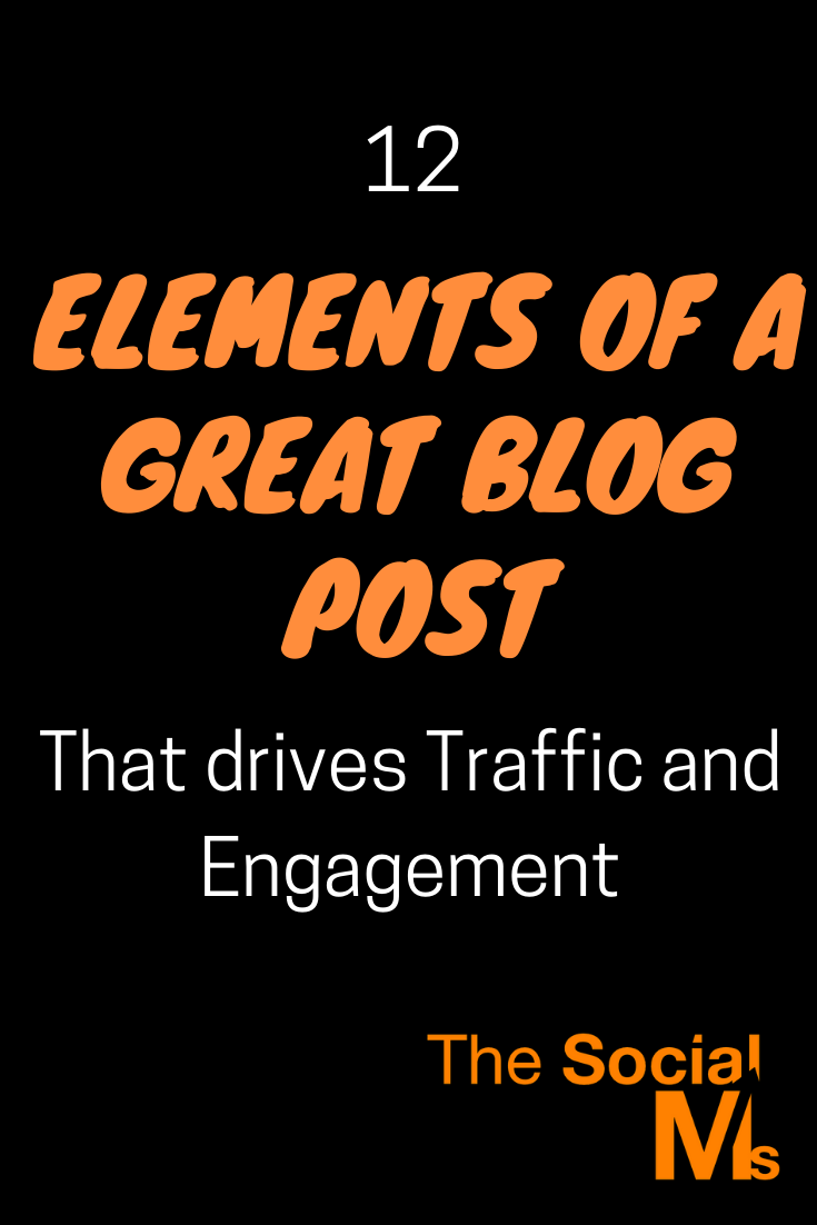 Here are the necessary elements of a great blog post and how you can make sure to give your blog posts the best start they can have and do everything from your end to make sure that your audience will love them enough to share them and engage with them. #bloggingtips #blogpostcreation #blogwriting #contentcreation #startablog #blogging101