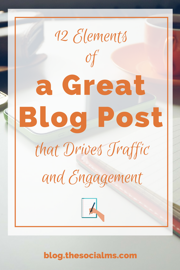 Here are the necessary elements of a great blog post. Learn how to give your blog posts the best start and drive shares, traffic, and engagement. blogging tips, blog post, content creation, better blog posts #bloggingtips #startablog #bloggingforbeginners #blogpost #blogging101