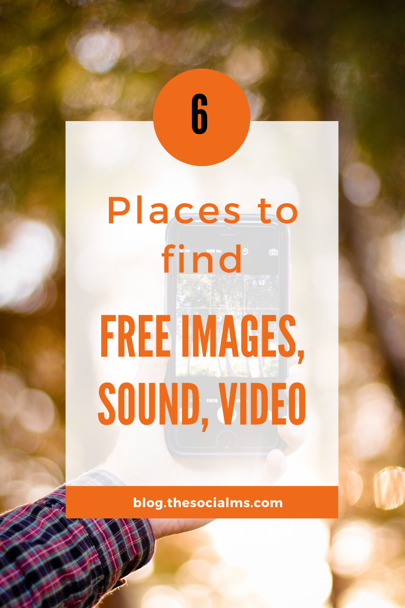 Here is a list of sites that allow you to download free images, music, sound, and even video snippets for free that you can use anywhere without breaking any laws. #contentcreation #contentmarketing #blogpostcreation #blogwriting #bloggingtips