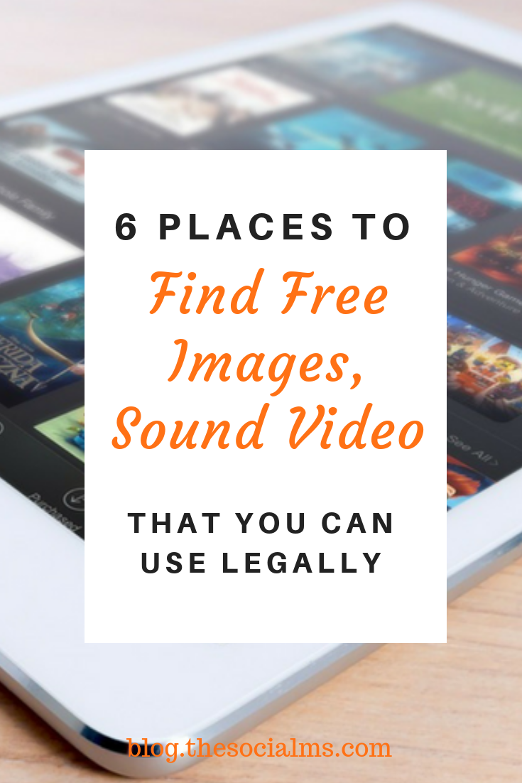 when you are creating anything for the online world, you absolutely need third-party content to make your own content awesome. Here are 6 places where you can find content that you can use for free. #contentmarketing #contentcreation #blogpostcreation #blogpostwriting