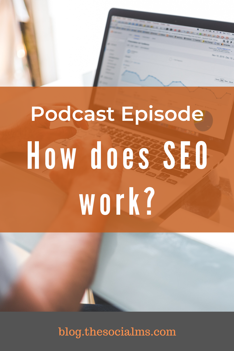 Did you ever ask yourself how SEO actually works? Why you need to build links? What the difference between high- and low-quality links is? #seo #seo101 #bloggingforbeginners #blogtraffic #blogging101