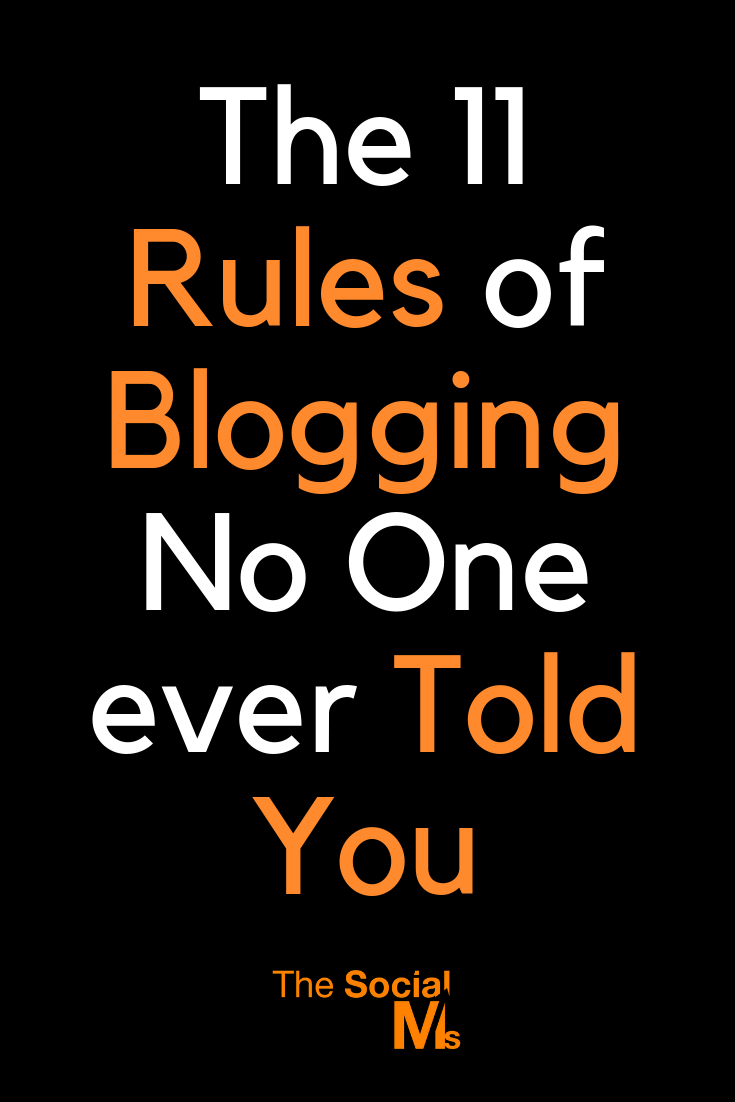 Blogging and the blogger life sounds so awesome once you get to success. But you have to work all the way! Because there are some rules of blogging that no one is openly talking about. #bloggingtips #bloggingforbeginners #startablog #bloggingsuccess #blogginglife