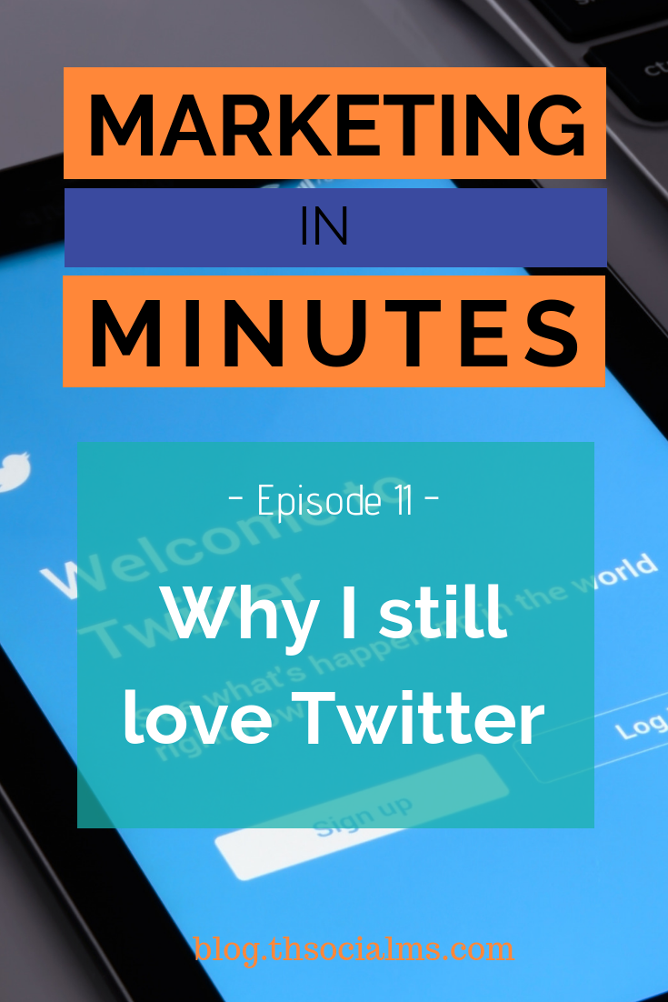 Twitter will always be relevant. In general, and for marketing. Here is why in the latest episode of the podcast Marketing in Minutes. twitter marketing, twitter strategy, twitter traffic, twitter tips #twitter #twittertips #twittermarketing #twitterstrategy