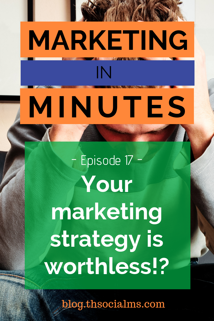 Your marketing strategy alone doesn't get you anywhere! Marketing is not about quick solutions. It's about execution, and working towards a goal. digital marketing, social media marketing, online marketing, marketing strategy, marketing process #digitalmarketing #onlinebusiness #blogtraffic #socialmediamarketing