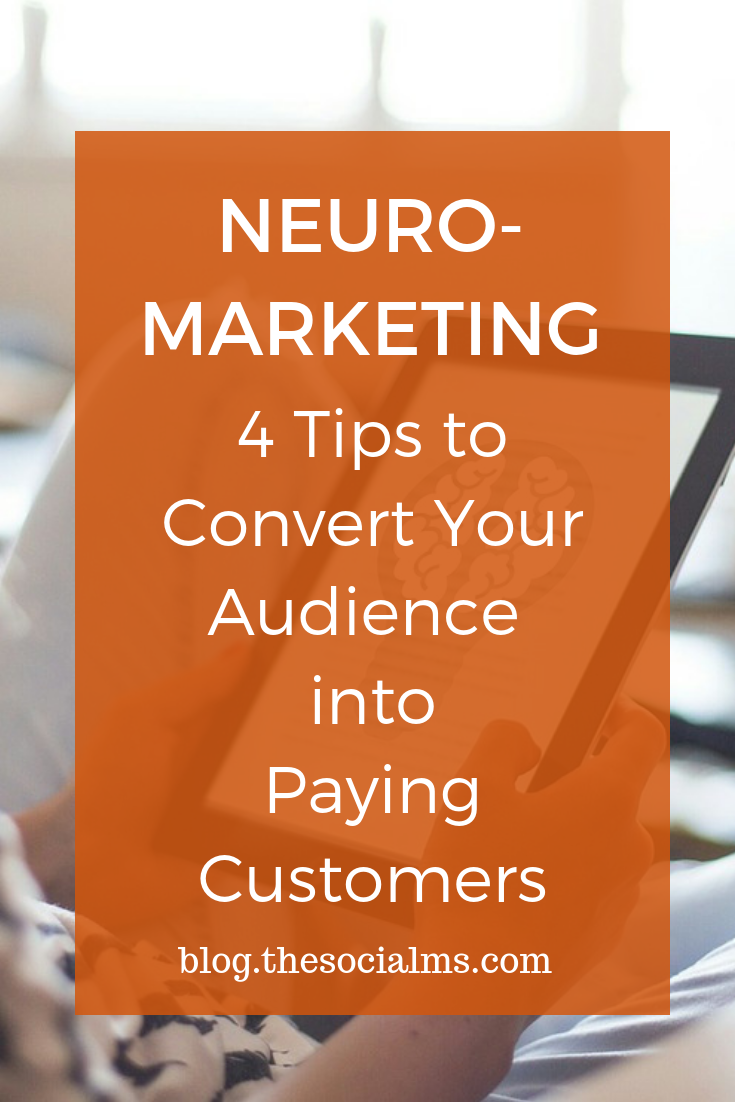 Everything in marketing has to do with psychology. Neuromarketing takes concepts like brain imaging, eye-tracking, and sensory marketing for better results. sales funnel, conversion optimization, get more conversions, convert more customers #salesfunnel #onlinebusiness #neuromarketing #conversionoptimization