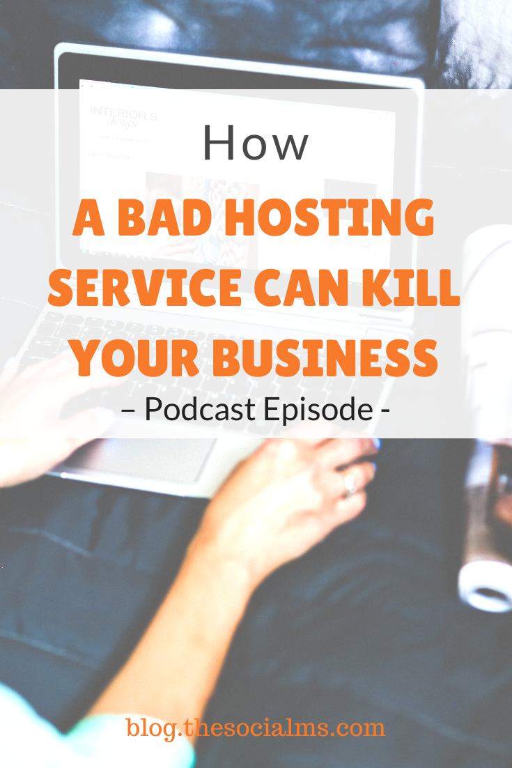 Back in 2016 using a bad hosting service nearly killed our business.  Learn what happened - and how you can prevent this from happening to you! #hosting #bloghosting #bloggingtips #bloggingforbeginners #startablog #onlinebusiness #smallbusinessmarketing
