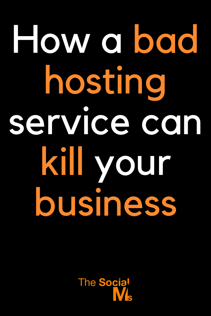 Back in 2016 using a bad hosting service nearly killed our business. Learn what happened in today's episode of Marketing in Minutes - and how you can prevent this from happening to you! #hosting #hostingservice #bloghosting