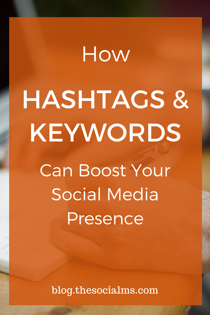 You know that hashtags can bolster your social media posts, and you may also know that keywords are vital to your SEO efforts — the next logical step would be to use the two together for a well rounded digital marketing campaign. #hashtags #keywords #bloggingtips #socialmediatips