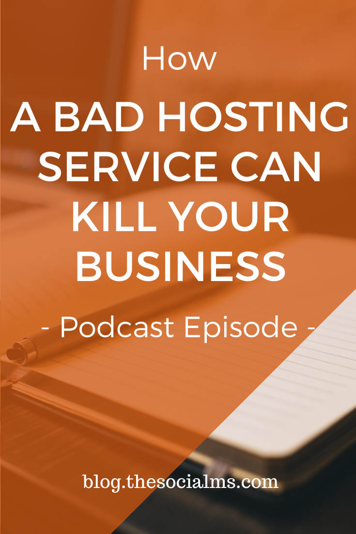 Choosing a good hosting service is absolutely vital for your business. And that's not just because of what happens when things go wrong - it's also a feeling of security when things are normal. Here is our story of what can happen if things get really bad - and how you can prevent that. #bloghosting #hosting #bloggingtips #bloggingforbeginners #startablog #onlinebusiness