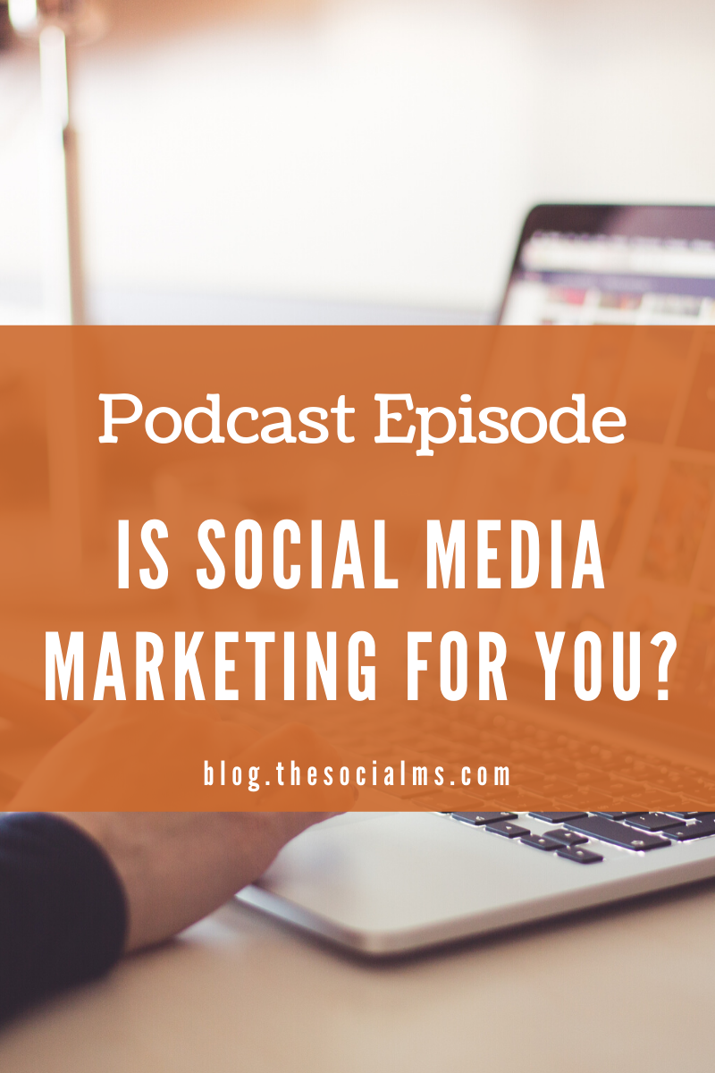 Social media marketing is a very powerful marketing tool. But is it right for you and your business? #socialmedia #socialmediamarketing #socialmediatips #marketinginminutes