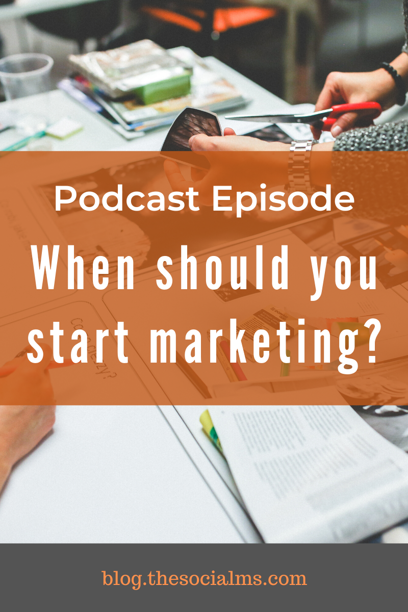 When is the right time for marketing?  That's a question I get asked a lot - and I always answer the same thing. And in this episode of Marketing in Minutes I will give it to you. #onlinemarketing #marketingstrategy #digitalmarketing #onlinebusiness